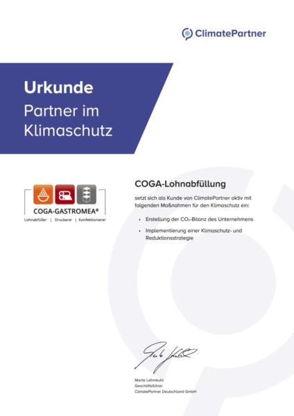 Climatepartner Certificate 17193 210819 Coga Gastromea