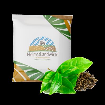 Flowpackabfuellung Tee Referenz Lohnabfuellung Nahrung Lebensmittel Ergaenzungsmittel