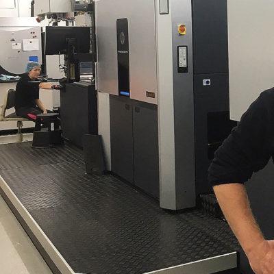 Coga Gastromea Doypack Bedruckung Standbodenbeutel Maschine Lohnabfuellung